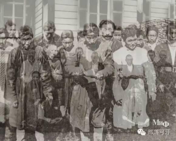 俄罗斯卡尔梅克蒙古怀旧照片 第77张
