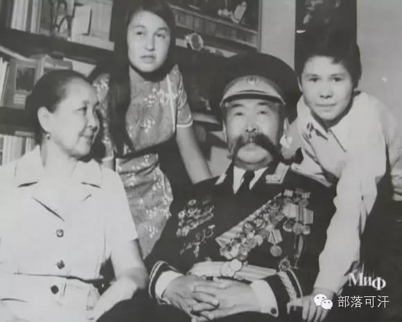 俄罗斯卡尔梅克蒙古怀旧照片 第81张