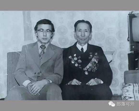 俄罗斯卡尔梅克蒙古怀旧照片 第88张