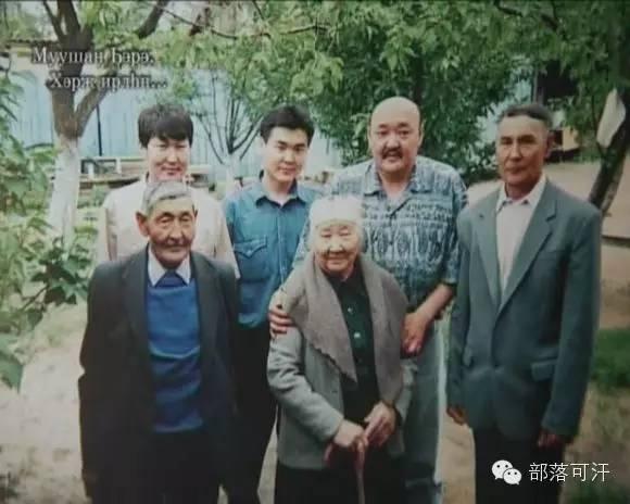 俄罗斯卡尔梅克蒙古怀旧照片 第96张