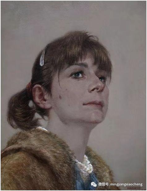 十年---那顺孟和肖像作品展 第6张 十年---那顺孟和肖像作品展 蒙古画廊