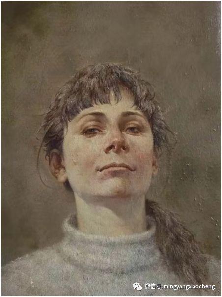 十年---那顺孟和肖像作品展 第4张 十年---那顺孟和肖像作品展 蒙古画廊