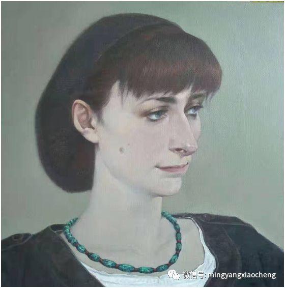 十年---那顺孟和肖像作品展 第11张 十年---那顺孟和肖像作品展 蒙古画廊