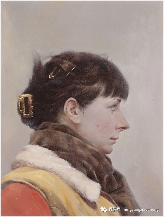 十年---那顺孟和肖像作品展 第12张 十年---那顺孟和肖像作品展 蒙古画廊