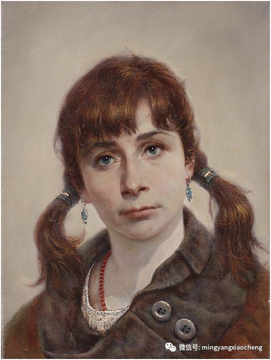 十年---那顺孟和肖像作品展 第14张 十年---那顺孟和肖像作品展 蒙古画廊