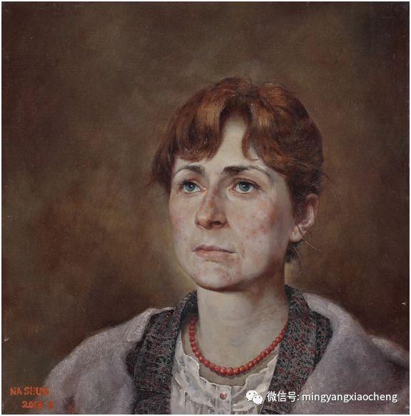 十年---那顺孟和肖像作品展 第28张 十年---那顺孟和肖像作品展 蒙古画廊