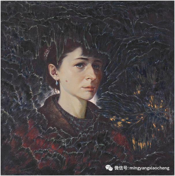 十年---那顺孟和肖像作品展 第31张 十年---那顺孟和肖像作品展 蒙古画廊