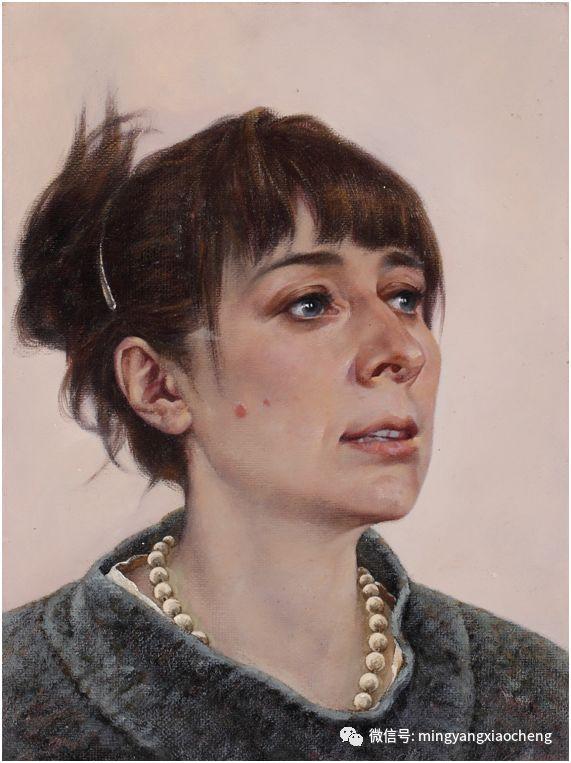 十年---那顺孟和肖像作品展 第30张 十年---那顺孟和肖像作品展 蒙古画廊