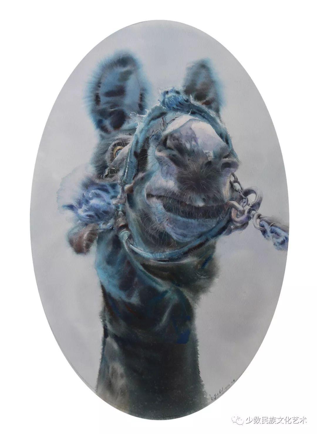 蒙古族青年水彩画家金光作品欣赏 第4张 蒙古族青年水彩画家金光作品欣赏 蒙古画廊