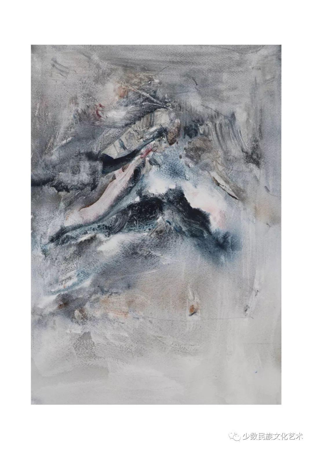 蒙古族青年水彩画家金光作品欣赏 第8张 蒙古族青年水彩画家金光作品欣赏 蒙古画廊