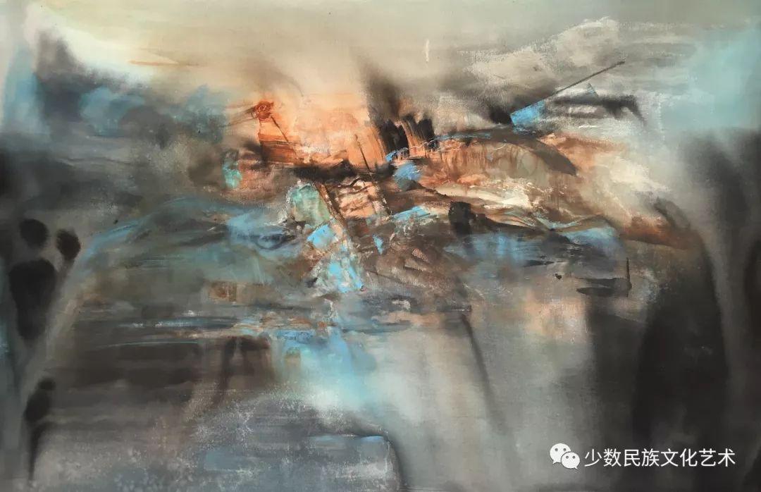 蒙古族青年水彩画家金光作品欣赏 第6张 蒙古族青年水彩画家金光作品欣赏 蒙古画廊