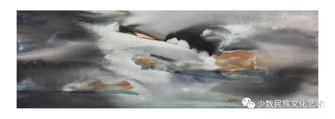 蒙古族青年水彩画家金光作品欣赏 第9张 蒙古族青年水彩画家金光作品欣赏 蒙古画廊