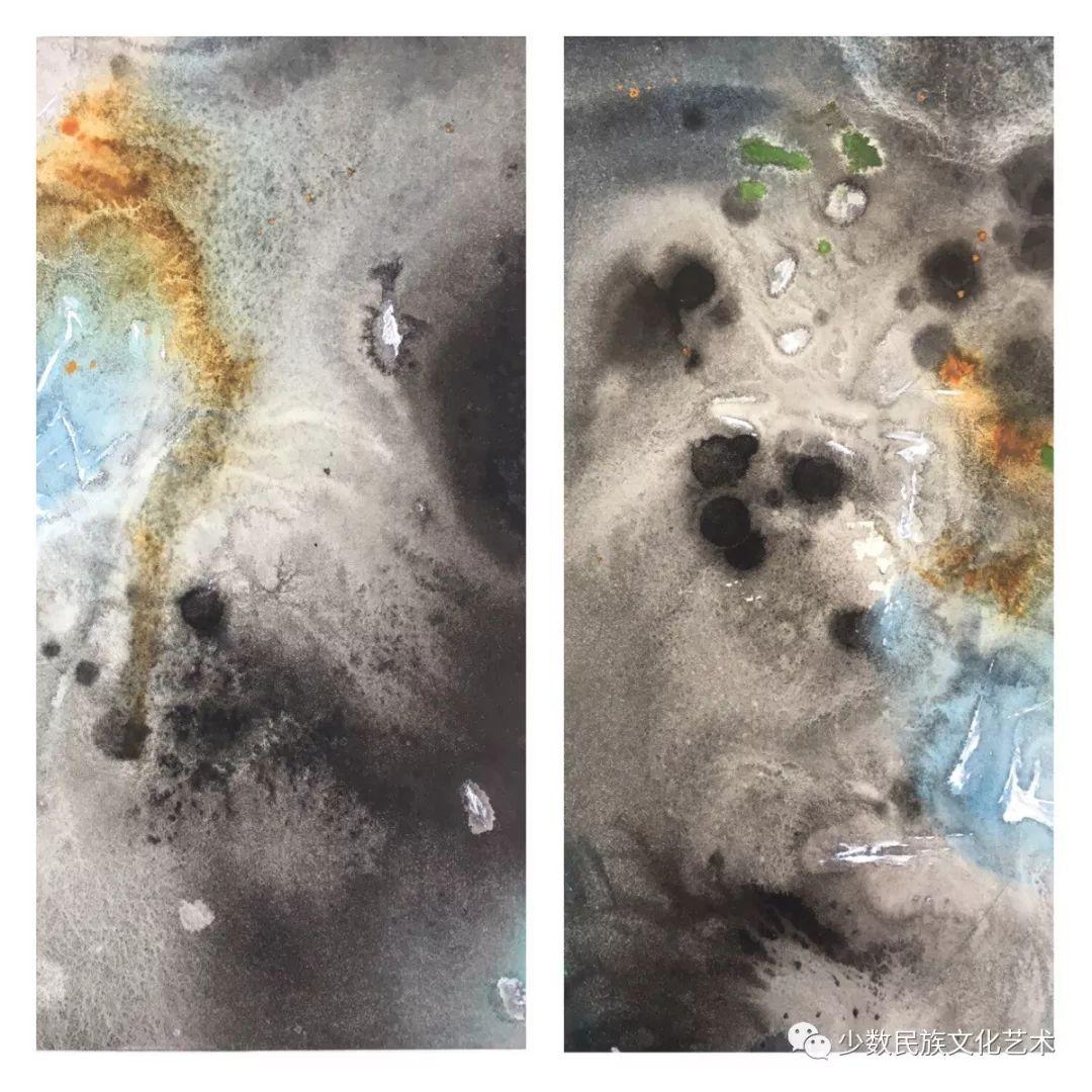 蒙古族青年水彩画家金光作品欣赏 第11张 蒙古族青年水彩画家金光作品欣赏 蒙古画廊