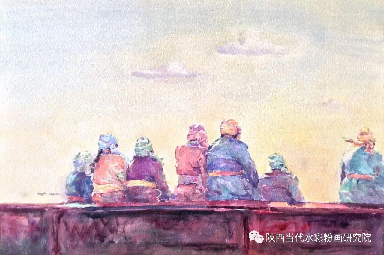 格日乐作品 | 内蒙古艺术家水彩画作品专题微展第24集(总第1121期) 第26张 格日乐作品 | 内蒙古艺术家水彩画作品专题微展第24集(总第1121期) 蒙古画廊