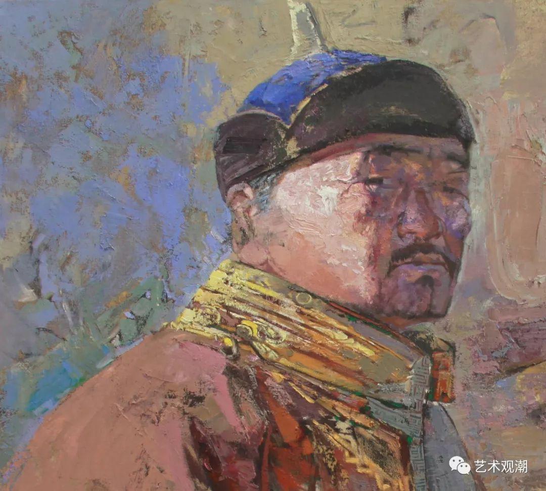 草原情怀——蒙古族青年画家包胡其图 第19张 草原情怀——蒙古族青年画家包胡其图 蒙古画廊