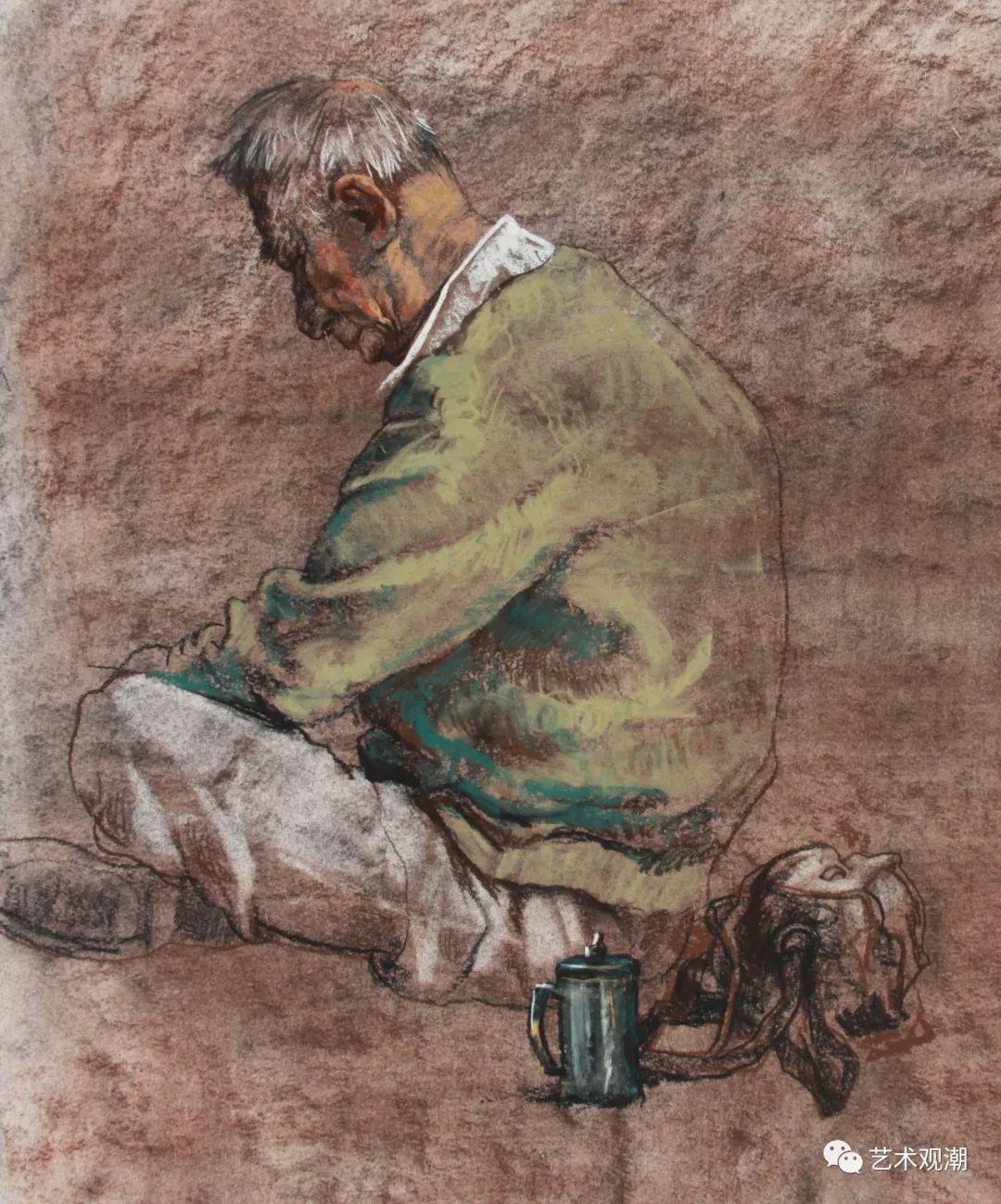 草原情怀——蒙古族青年画家包胡其图 第25张 草原情怀——蒙古族青年画家包胡其图 蒙古画廊