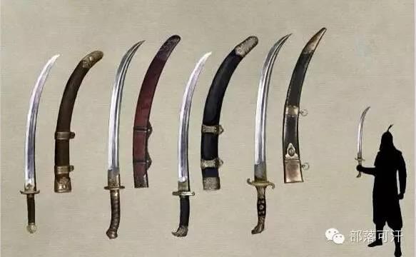 【蒙古战刀】设计师还原古代蒙古战刀兵器图集 第9张