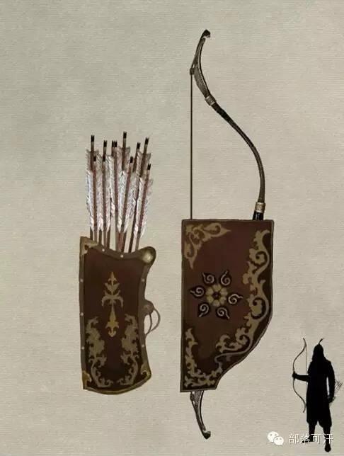 【蒙古战刀】设计师还原古代蒙古战刀兵器图集 第14张