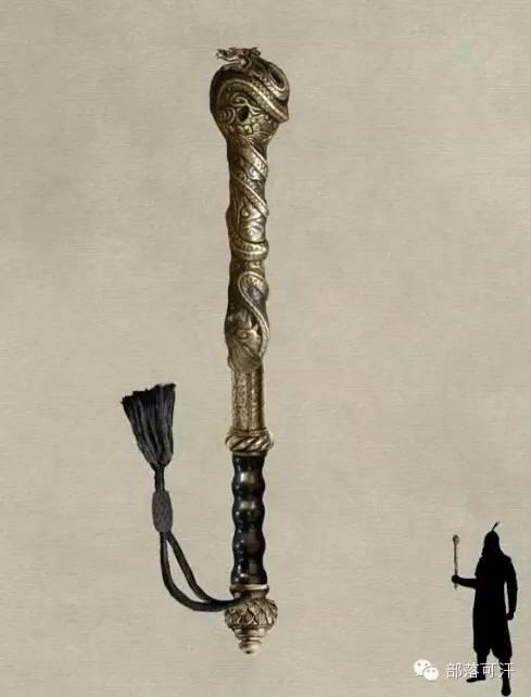 【蒙古战刀】设计师还原古代蒙古战刀兵器图集 第13张