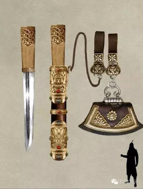【蒙古战刀】设计师还原古代蒙古战刀兵器图集 第18张