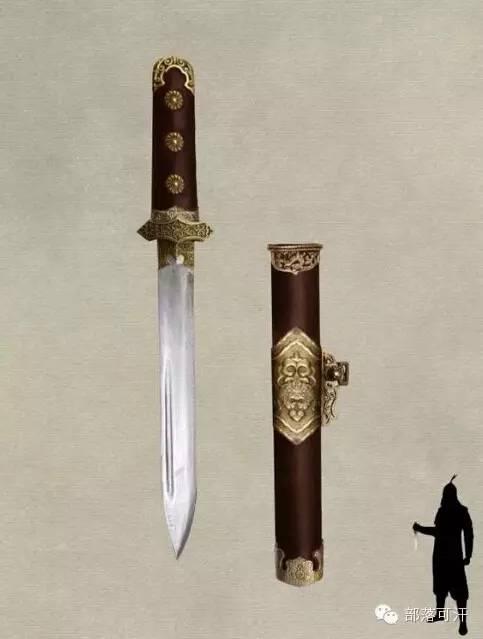 【蒙古战刀】设计师还原古代蒙古战刀兵器图集 第17张