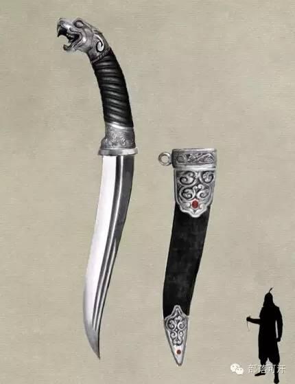 【蒙古战刀】设计师还原古代蒙古战刀兵器图集 第19张