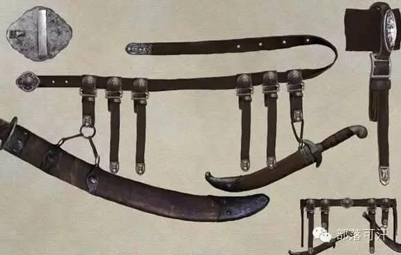 【蒙古战刀】设计师还原古代蒙古战刀兵器图集 第21张