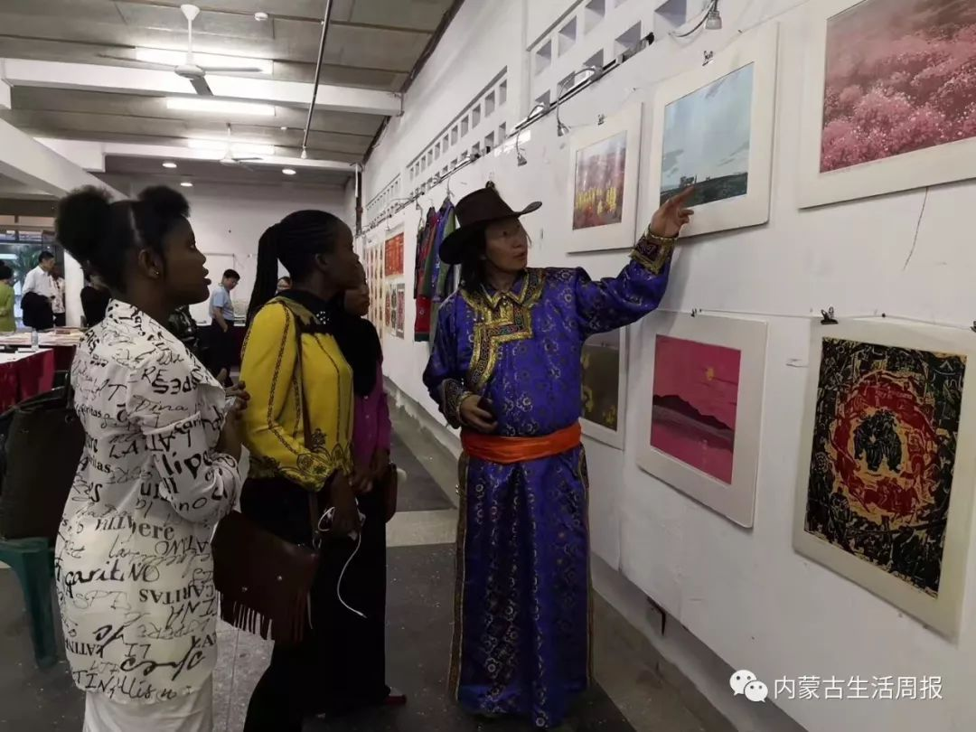 首次首次首次!蒙古版画在非洲引热议!? 第8张 首次首次首次!蒙古版画在非洲引热议!? 蒙古画廊