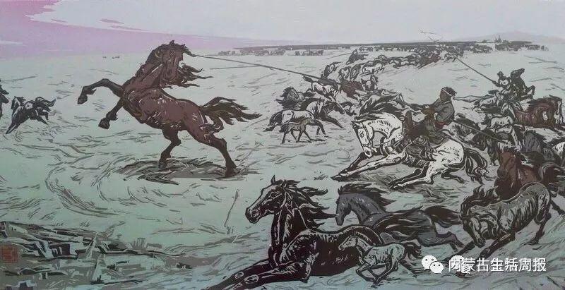 首次首次首次!蒙古版画在非洲引热议!? 第19张 首次首次首次!蒙古版画在非洲引热议!? 蒙古画廊