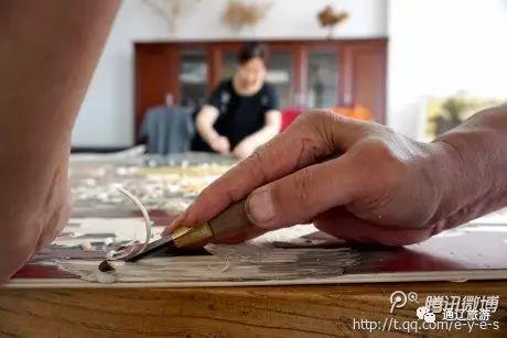 内蒙古探访:科尔沁版画新品——编织版画 绝版价值高哟 第4张