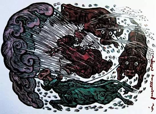 【文化】版画故乡—扎鲁特旗(蒙古文) 第1张 【文化】版画故乡—扎鲁特旗(蒙古文) 蒙古画廊