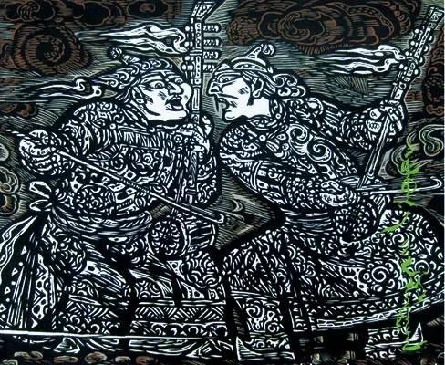 【文化】版画故乡—扎鲁特旗(蒙古文) 第14张 【文化】版画故乡—扎鲁特旗(蒙古文) 蒙古画廊