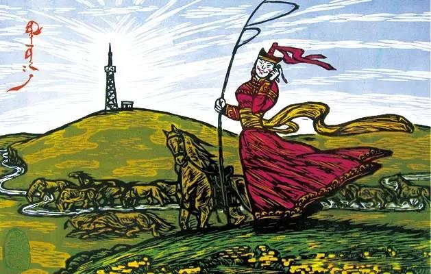 【文化】版画故乡—扎鲁特旗(蒙古文) 第15张 【文化】版画故乡—扎鲁特旗(蒙古文) 蒙古画廊