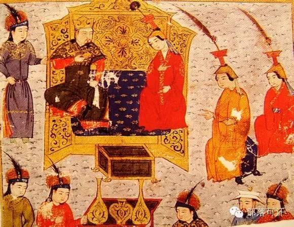 蒙兀尔时代的细密画—蒙古画 第9张 蒙兀尔时代的细密画—蒙古画 蒙古画廊