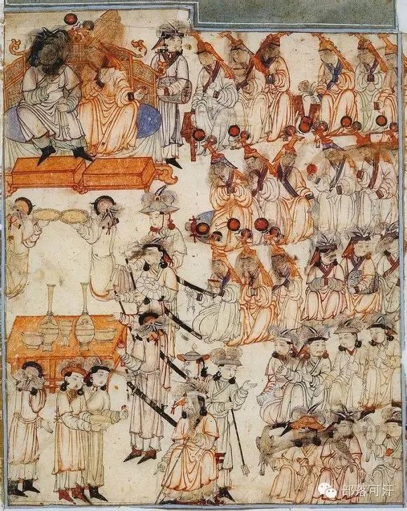 蒙兀尔时代的细密画—蒙古画 第30张 蒙兀尔时代的细密画—蒙古画 蒙古画廊