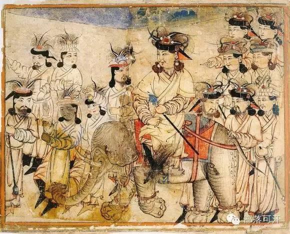 蒙兀尔时代的细密画—蒙古画 第38张 蒙兀尔时代的细密画—蒙古画 蒙古画廊