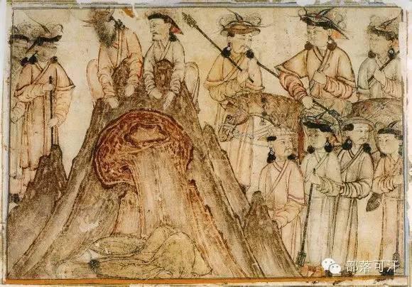 蒙兀尔时代的细密画—蒙古画 第44张 蒙兀尔时代的细密画—蒙古画 蒙古画廊
