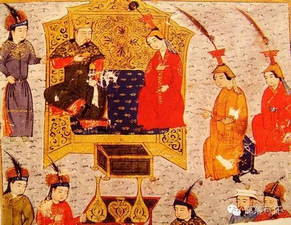 蒙兀尔时代的细密画—蒙古画 第43张 蒙兀尔时代的细密画—蒙古画 蒙古画廊