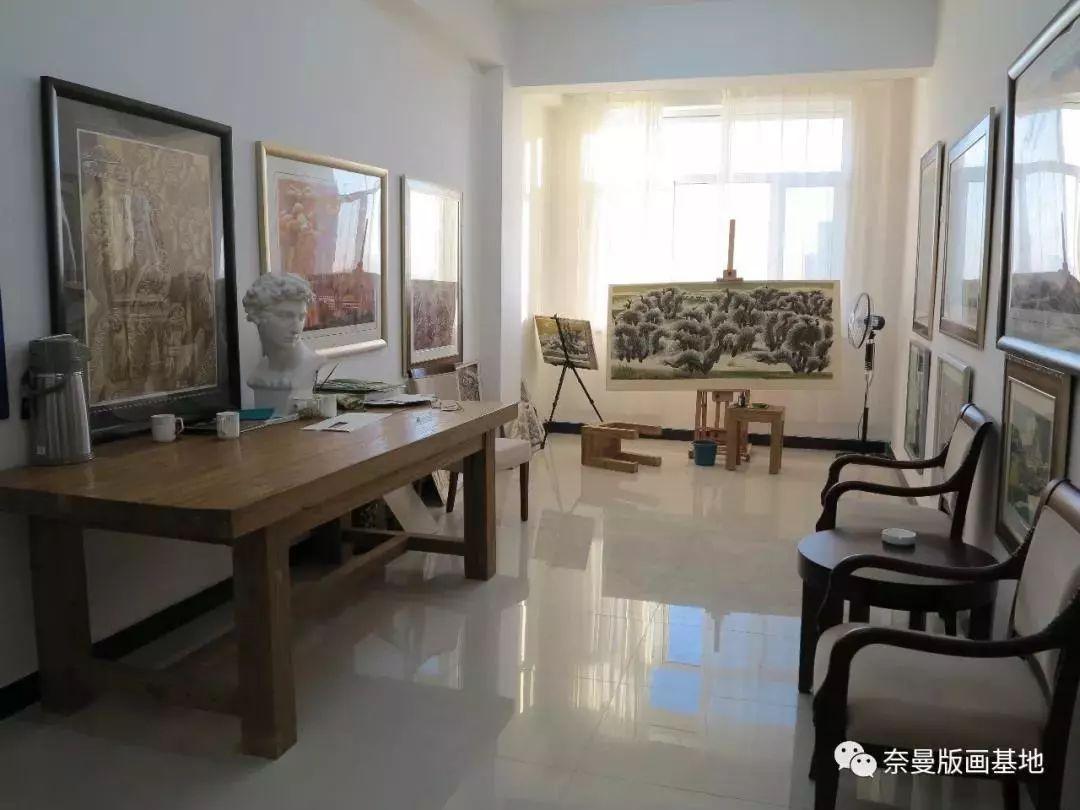科尔沁文化名片 | 蓬勃发展的奈曼版画 第9张 科尔沁文化名片 | 蓬勃发展的奈曼版画 蒙古画廊