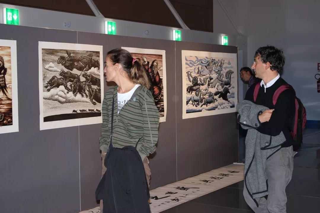 科尔沁文化名片 | 蓬勃发展的奈曼版画 第17张 科尔沁文化名片 | 蓬勃发展的奈曼版画 蒙古画廊