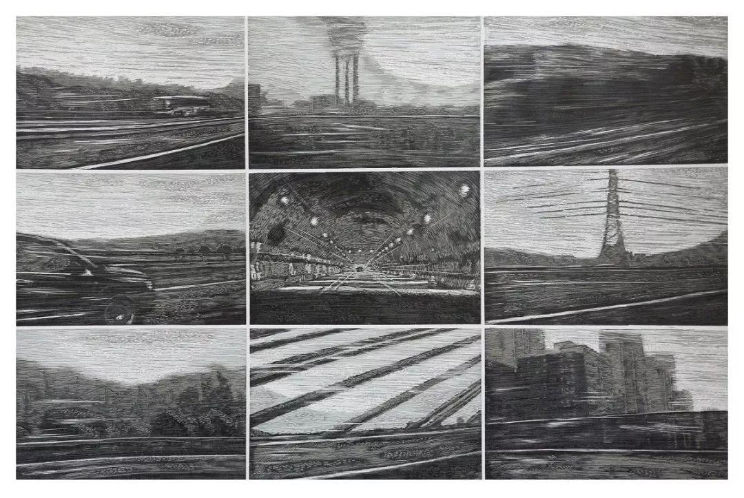 科尔沁文化名片 | 蓬勃发展的奈曼版画 第21张 科尔沁文化名片 | 蓬勃发展的奈曼版画 蒙古画廊