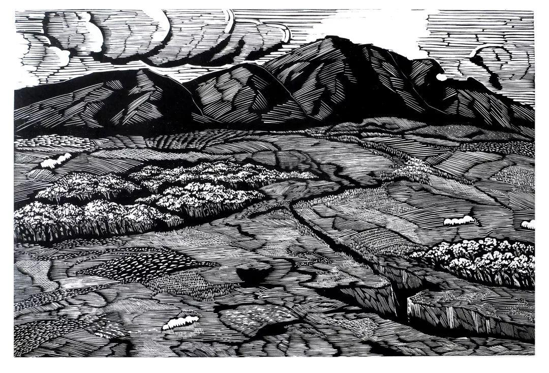 科尔沁文化名片 | 蓬勃发展的奈曼版画 第37张 科尔沁文化名片 | 蓬勃发展的奈曼版画 蒙古画廊