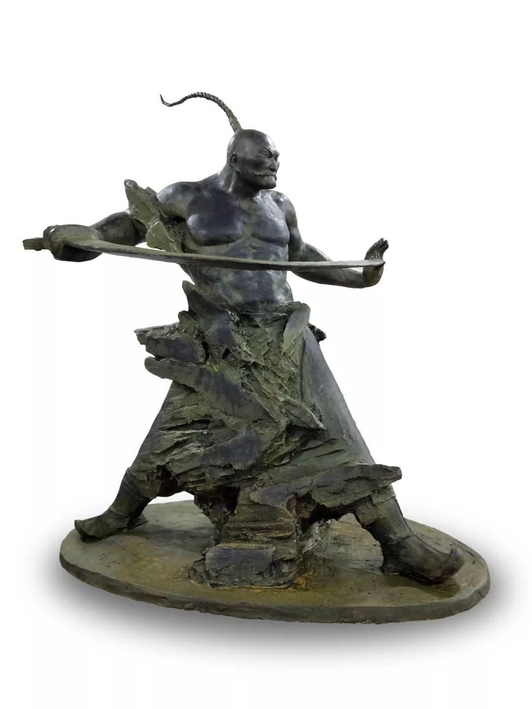 家乡美 | 陈栓柱雕塑作品欣赏 第4张