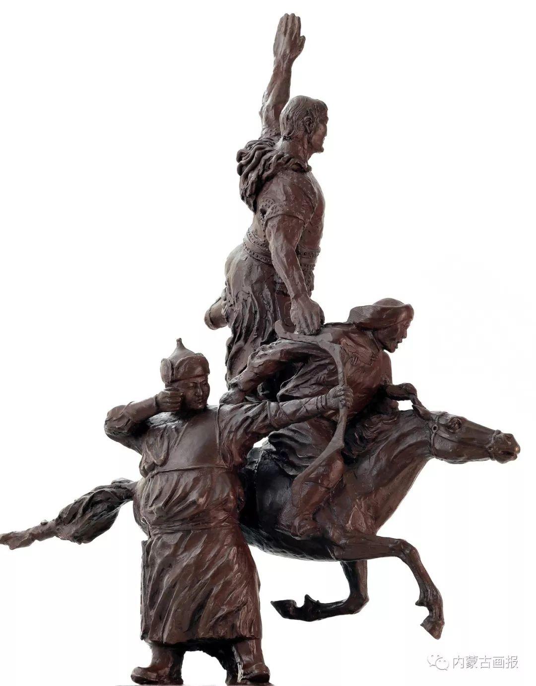 蒙古族雕塑艺术家铁木老师作品欣赏 ... 第15张 蒙古族雕塑艺术家铁木老师作品欣赏 ... 蒙古画廊