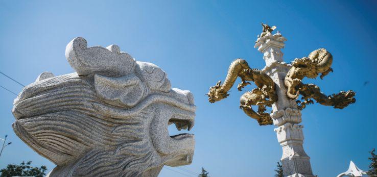 个性!蒙元主题雕塑,彰显呼和浩特别具一格之美 第3张
