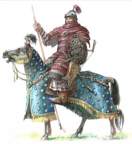 冷兵器时代的蒙古重骑兵与轻骑兵 第1张