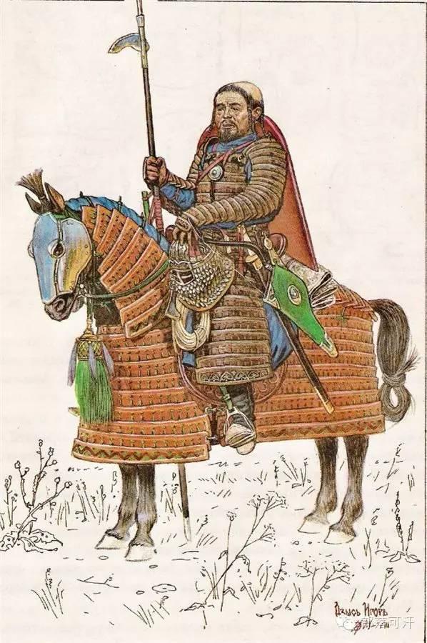 冷兵器时代的蒙古重骑兵与轻骑兵 第15张