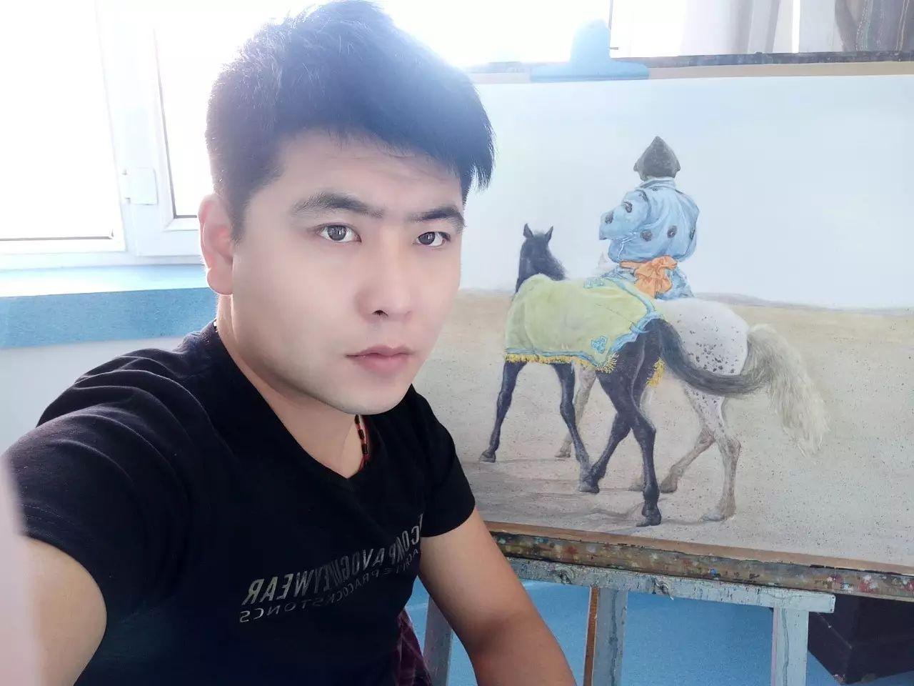 【图片】包大伟水粉画作品欣赏 第1张 【图片】包大伟水粉画作品欣赏 蒙古画廊