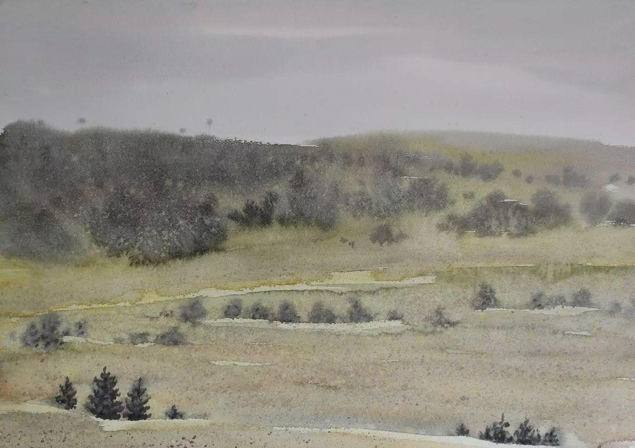 【图片】包大伟水粉画作品欣赏 第9张 【图片】包大伟水粉画作品欣赏 蒙古画廊