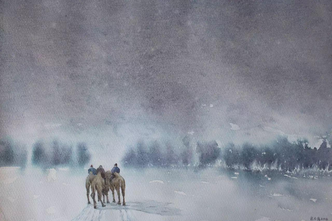 【图片】包大伟水粉画作品欣赏 第11张 【图片】包大伟水粉画作品欣赏 蒙古画廊